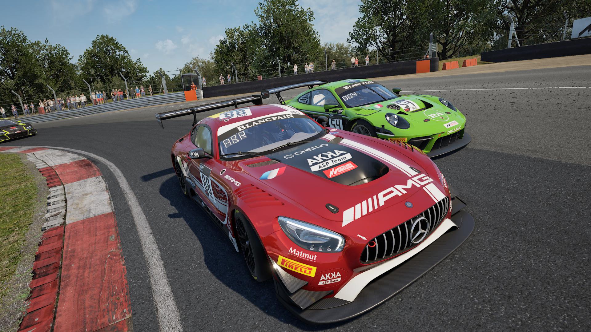 Gallerie de screenshots Assetto Corsa Competizione
