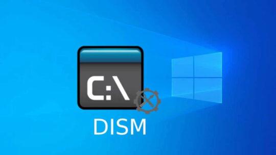Réparer l'image Windows 10 à partir du DVD